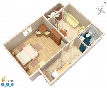 Apartament A-4198-b - Apartamenty Vodice (Vodice) - 4198