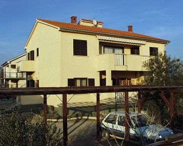 Property Krk (Krk) - Accommodation 420 - Apartments with pebble beach.