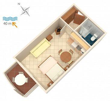 Studio AS-4202-b - Apartamenty Bilo (Primošten) - 4202