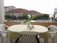 Brodarica, Terrace u smještaju tipa apartment, s pogledom na more, dopusteni kucni ljubimci i WIFI.
