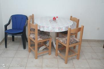Žaborić, Dining room u smještaju tipa apartment.