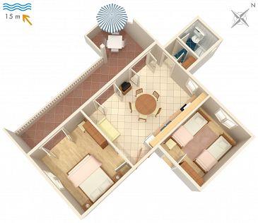 Apartament A-4253-a - Apartamenty Ražanj (Rogoznica) - 4253