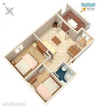 Apartment A-4255-f - Apartments Rogoznica (Rogoznica) - 4255
