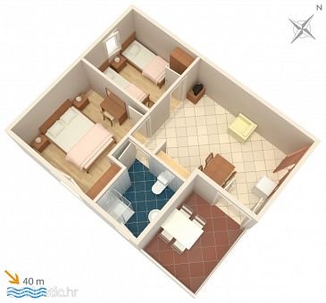 Apartment A-4286-a - Apartments Sevid (Trogir) - 4286