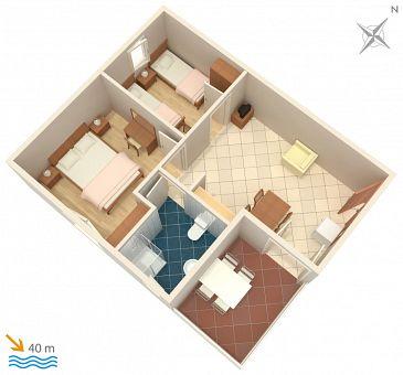Apartament A-4286-a - Apartamenty Sevid (Trogir) - 4286