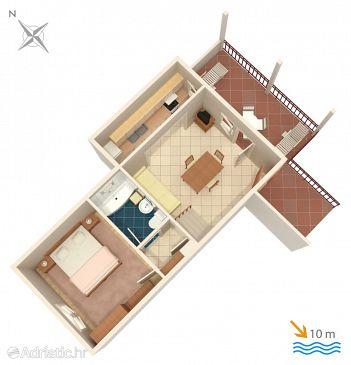 Apartment A-4288-b - Apartments Vinišće (Trogir) - 4288