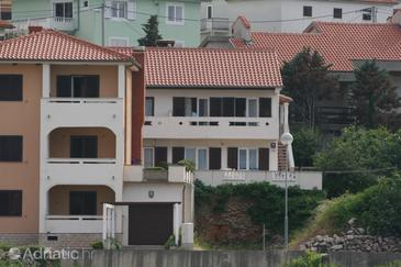 Property Vrbnik (Krk) - Accommodation 430 - Apartments with pebble beach.