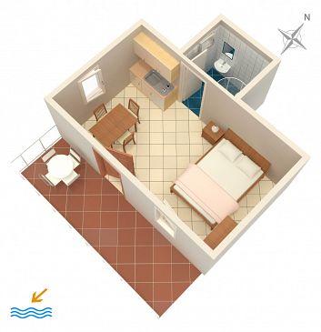 Studio AS-4312-a - Apartamenty Grebaštica (Šibenik) - 4312