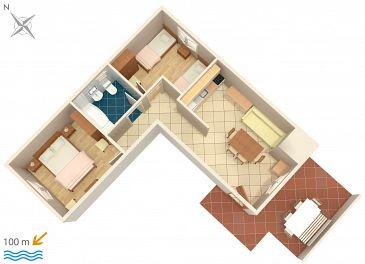 Apartament A-4313-c - Apartamenty Rogoznica (Rogoznica) - 4313