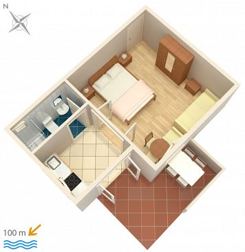 Apartment A-4313-e - Apartments Rogoznica (Rogoznica) - 4313