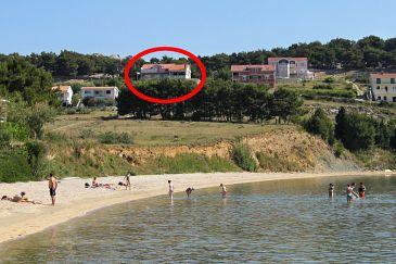Obiekt Vlašići (Pag) - Zakwaterowanie 4319 - Apartamenty z piaszczystą plażą.