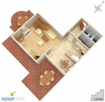House K-4329 - Vacation Rentals Seget Vranjica (Trogir) - 4329
