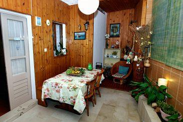Podgora, Living room u smještaju tipa house, WIFI.