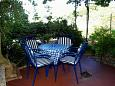 Courtyard Podgora (Makarska) - Accommodation 4331 - Vacation Rentals near sea with pebble beach.