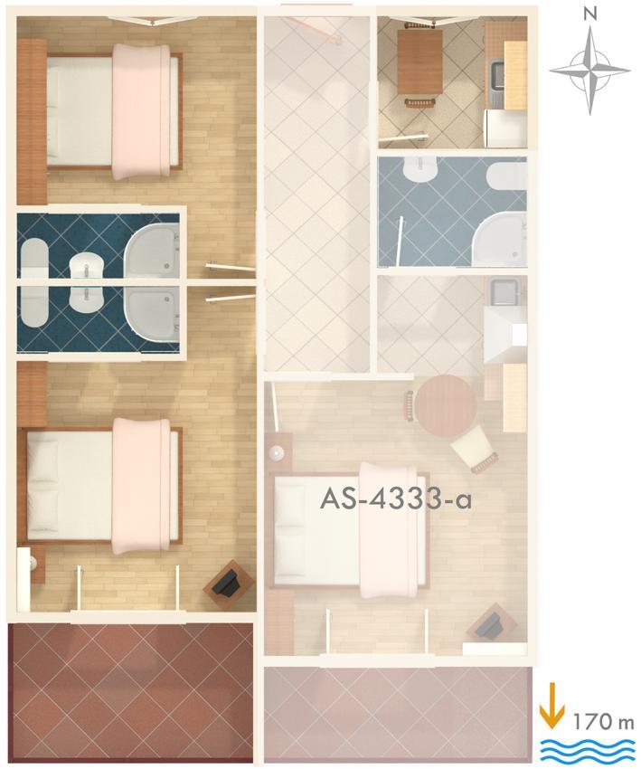 Apartmány s parkoviskom v meste Brna - 4333
