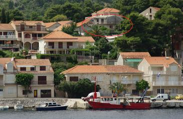 Property Brna (Korčula) - Accommodation 4333 - Apartments near sea.
