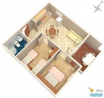 Apartament A-434-a - Apartamenty Lavdara (Dugi otok - Lavdara) - 434