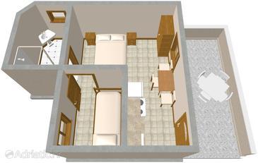 Studio flat AS-435-b - Apartments Lavdara (Dugi otok - Lavdara) - 435