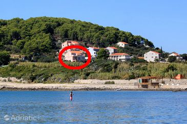 Property Lumbarda (Korčula) - Accommodation 4353 - Apartments near sea with sandy beach.