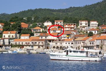 Property Brna (Korčula) - Accommodation 4354 - Apartments near sea.