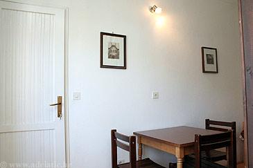 Korčula, Dining room u smještaju tipa studio-apartment.