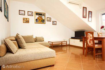 Korčula, Living room u smještaju tipa apartment, WIFI.
