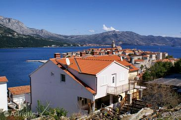 Property Korčula (Korčula) - Accommodation 4367 - Apartments near sea with pebble beach.
