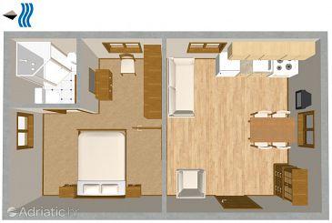 Apartment A-437-c - Apartments Veli Rat (Dugi otok) - 437