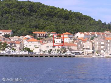 Korčula, Korčula, Property 4410 - Apartments and Rooms blizu mora with pebble beach.