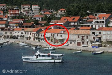 Property Brna (Korčula) - Accommodation 4415 - Apartments near sea with sandy beach.