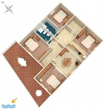 Apartament A-4420-a - Apartamenty Zavalatica (Korčula) - 4420