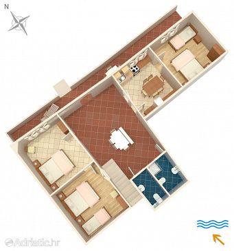 House K-4422 - Vacation Rentals Lumbarda (Korčula) - 4422