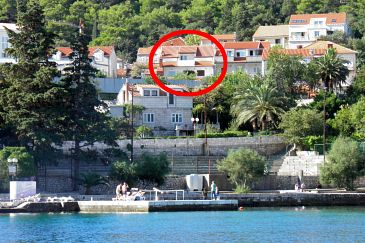 Property Korčula (Korčula) - Accommodation 4428 - Apartments near sea with pebble beach.