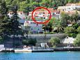 Property Korčula (Korčula) - Accommodation 4428 - Apartments near sea with pebble beach.