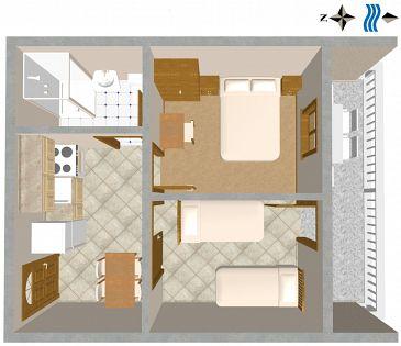 Apartament A-443-a - Apartamenty Sali (Dugi otok) - 443