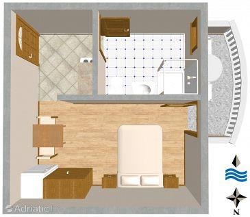 Studio flat AS-443-a - Apartments Sali (Dugi otok) - 443