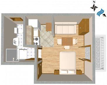Studio flat AS-443-b - Apartments Sali (Dugi otok) - 443