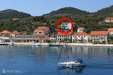Sali, Dugi otok, Property 444 - Apartments blizu mora with pebble beach.
