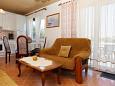 Lumbarda, Living room u smještaju tipa apartment, dopusteni kucni ljubimci i WIFI.