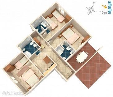 Apartment A-4451-d - Apartments Korčula (Korčula) - 4451