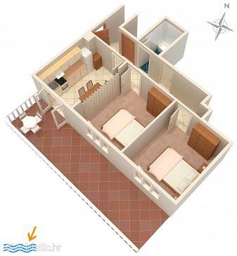 Apartment A-4453-b - Apartments Zavalatica (Korčula) - 4453
