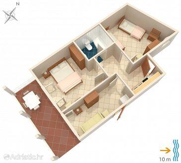 Apartment A-4461-a - Apartments Zavalatica (Korčula) - 4461