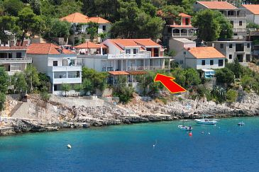 Property Zavalatica (Korčula) - Accommodation 4461 - Apartments near sea.
