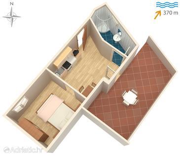Studio flat AS-447-a - Apartments Sali (Dugi otok) - 447