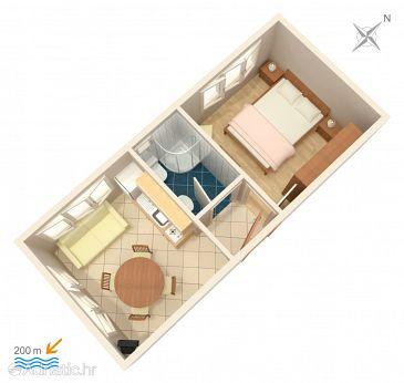 Apartment A-4500-d - Apartments Orebić (Pelješac) - 4500
