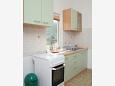 Trpanj, Kitchen u smještaju tipa apartment, dostupna klima i WIFI.