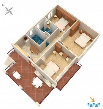 Apartament A-4537-a - Apartamenty Orebić (Pelješac) - 4537