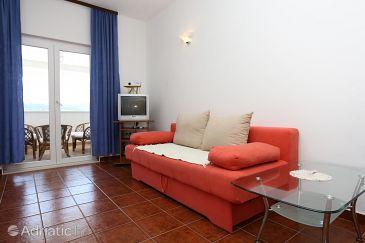 Kučište - Perna, Living room u smještaju tipa apartment, WIFI.