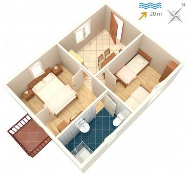 Apartament A-4550-b - Kwatery Drače (Pelješac) - 4550