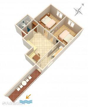 Apartment A-4554-a - Apartments Orebić (Pelješac) - 4554